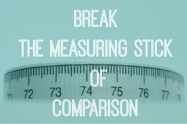 Do you carry around a measuring stick?