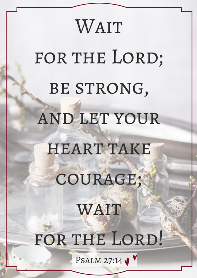 Are you waiting on God?