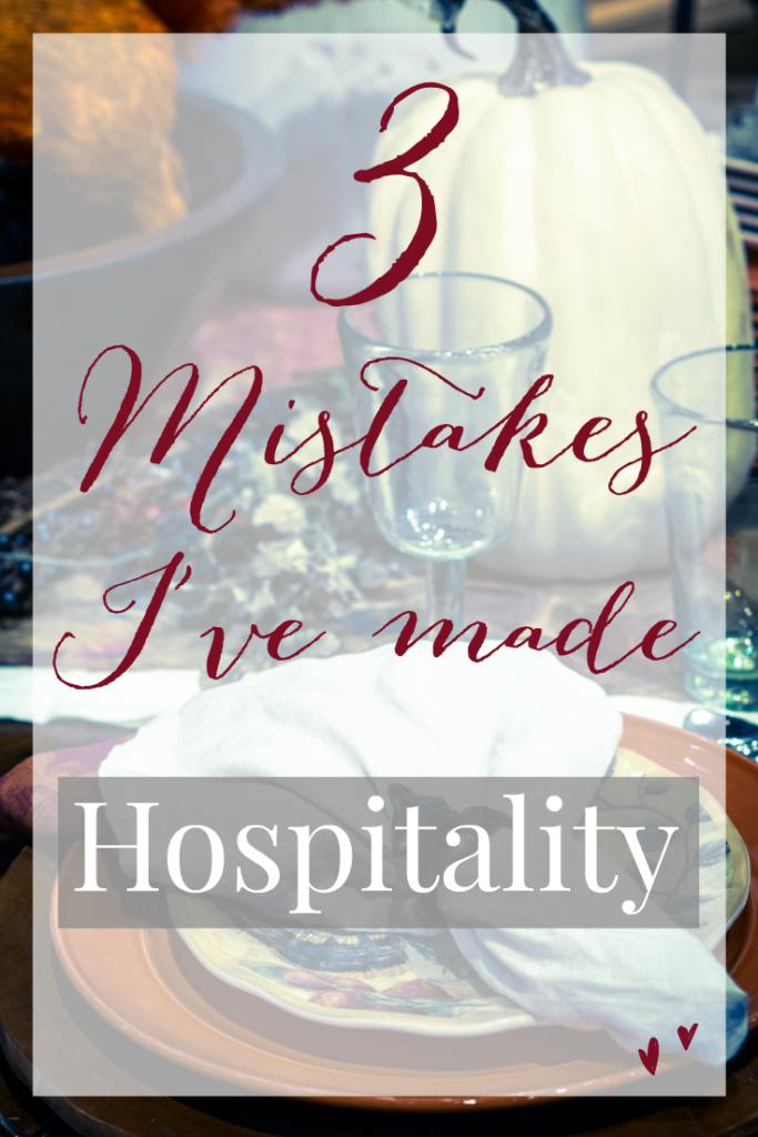 3 hospitality mistakes